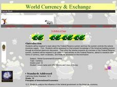 World Currency and Exchange Lesson Plan
