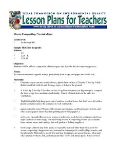 Worm Composting: Vermiculture Lesson Plan