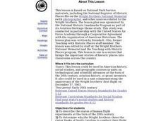 Wright Brothers National Memorial Lesson Plan