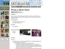 Write a Short Story Lesson Plan