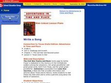 Write a Song Lesson Plan