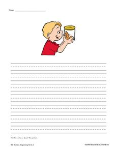 Write a Story About the Picture Worksheet