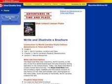 Write and Illustrate a Brochure Lesson Plan