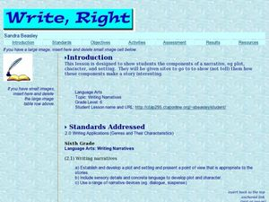 Write Right! Lesson Plan