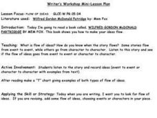 Writer's Workshop Mini-Lesson Paln Lesson Plan