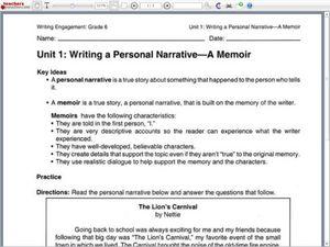 memoir personal essay