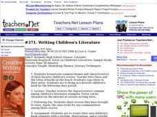 Writing Children's Literature Lesson Plan