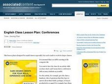 Writing Conferences Lesson Plan