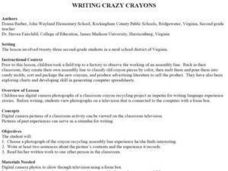 Writing Crazy Crayons Lesson Plan
