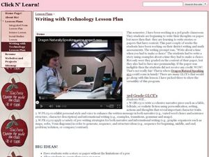 Writing with Technology Lesson Plan