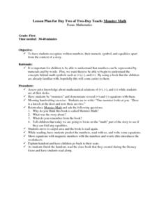 Written Numbers Lesson Plan