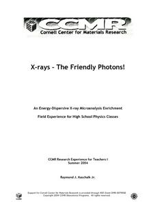 X-rays - The Friendly Photons! Lesson Plan