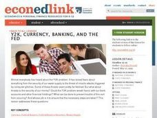 Y2K, Currency, Banking, and the Fed Lesson Plan