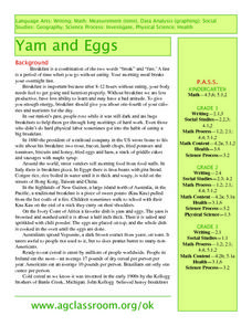 Yam and Eggs Lesson Plan