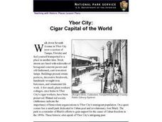 Ybor City: Cigar Capital of the World Lesson Plan
