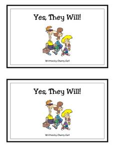 Yes, They Will!-- Full Color Copy Printables & Template
