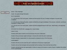 You Are Special Lesson Plan