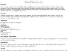 You Are Where You Live Lesson Plan