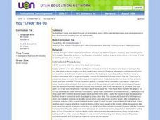"You ""Crack"" Me Up Lesson Plan"