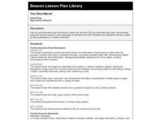 You Have Nerve! Lesson Plan