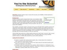 You're the Scientist Lesson Plan