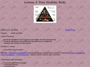 Your Healthy Body Lesson Plan