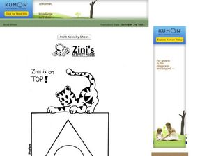 Zini is on Top! Worksheet