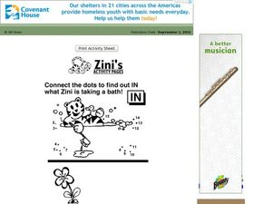 Zini's Activity Page Worksheet