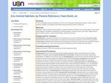 Zoo Animal Habitats Lesson Plan