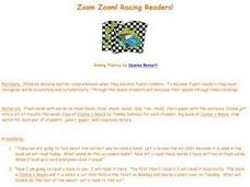 Zoom Zoom! Racing Readers! Lesson Plan