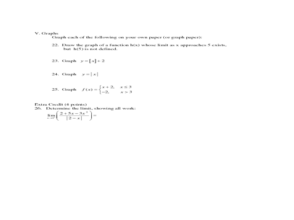 Worksheets Grade 12 Work Sheet On Limit And Continity limits and continuity review worksheet intrepidpath grade lesson pla a p calculus test chapter 2 11th 12th