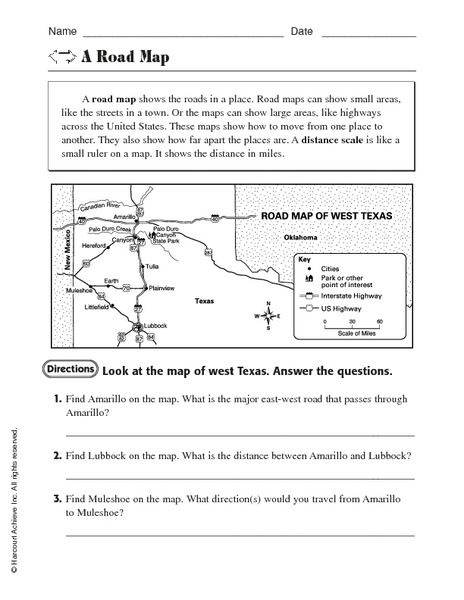 all worksheets map scale worksheets printable worksheets guide for children and parents. Black Bedroom Furniture Sets. Home Design Ideas
