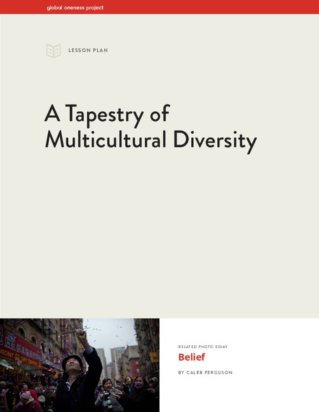 Tapestry of multicultural ersity lesson plan
