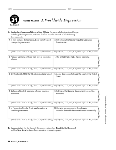 Depression Worksheets - Synhoff