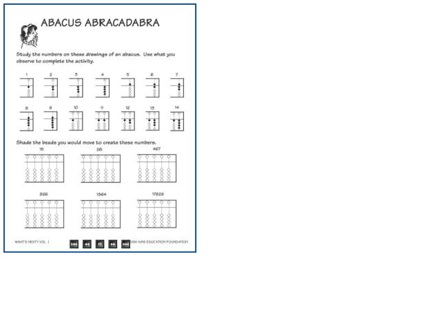 Printables. Abacus Math Worksheets. Tempojs Thousands of Printable ...