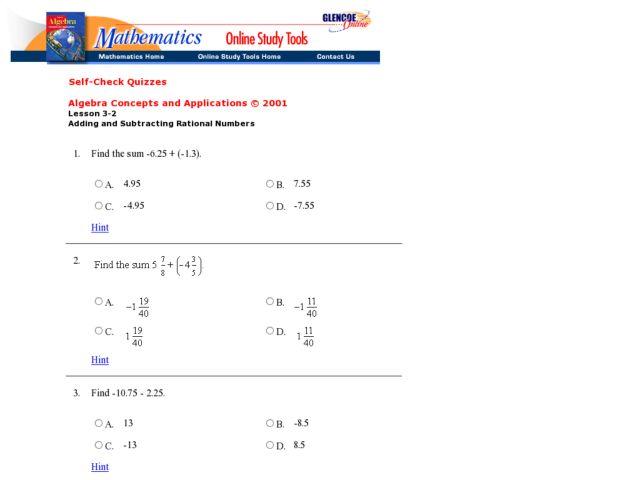 math worksheet : adding and subtracting rational numbers worksheet 7th grade  : Adding And Subtracting Rational Numbers Worksheet