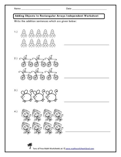 math worksheet : math addition array worksheets  math sheets : Multiplication Array Worksheet