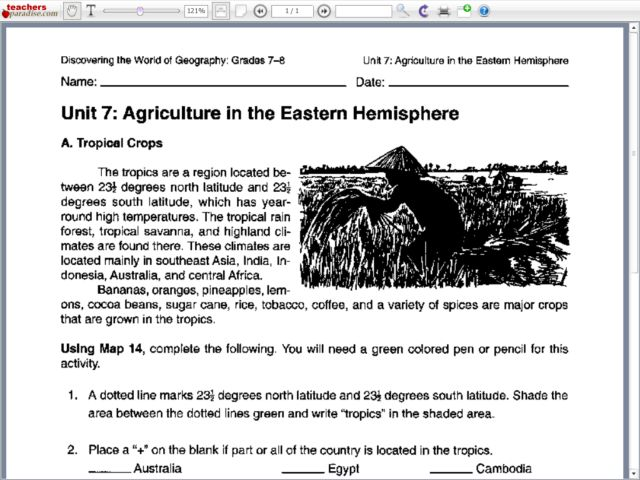 Collection Agriculture Worksheets Photos - Studioxcess