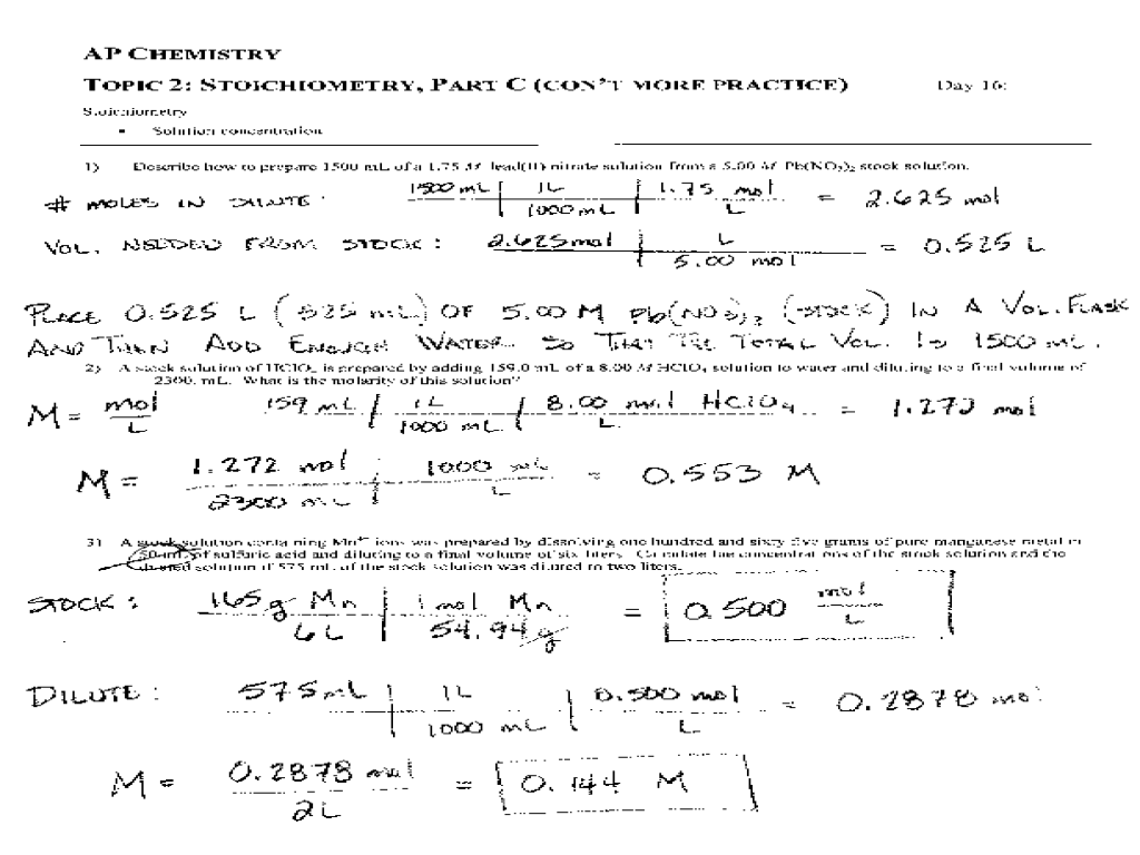 concentration and molarity phet chemistry labs answers 28 images – Molarity Worksheet Answers