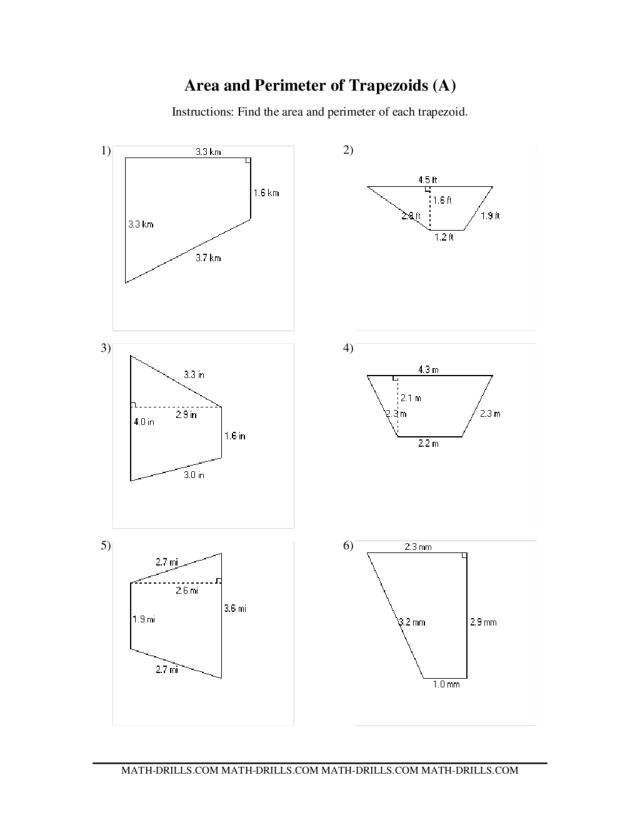 Area of triangles and parallelograms worksheet tes
