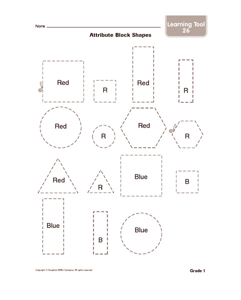 Attribute Blocks Worksheets Free Worksheets Library | Download and ...