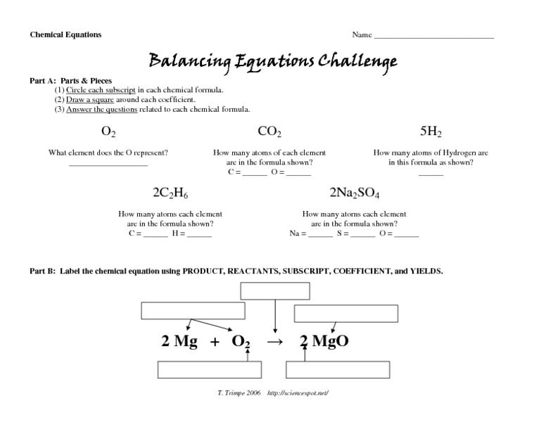 All Worksheets » Pan Balance Equations Worksheets - Printable ...