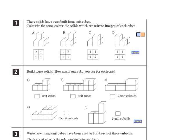 worksheets on volume of solids The Best and Most Comprehensive – Volume of Solids Worksheet