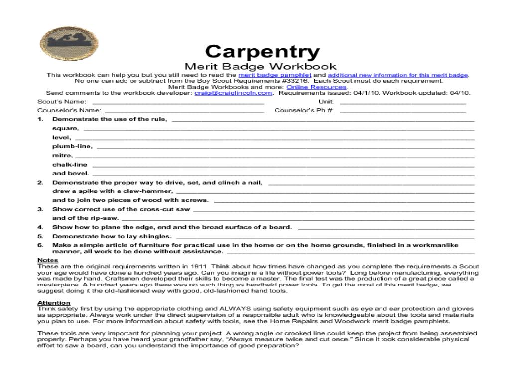 carpentry worksheets free worksheets library download and print worksheets free on comprar. Black Bedroom Furniture Sets. Home Design Ideas