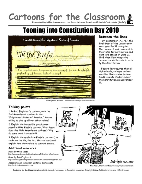 Printables Amending The Constitution Worksheet cartoons in the classroom constitutional amendments 11th 12th grade worksheet lesson planet