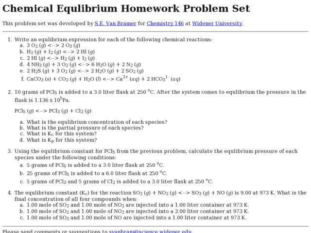 Chemical Equilibrium Worksheet Templates and Worksheets – Equilibrium Worksheet