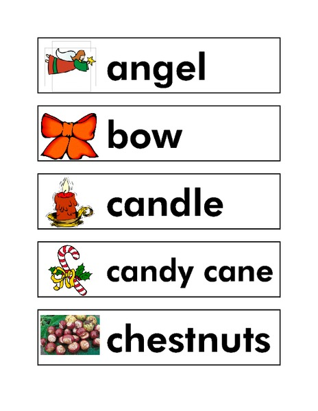 Christmas Word Wall - Lesson Planet Community Forums