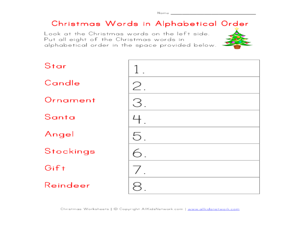 Worksheet. Worksheet Alphabetical Order. Wosenly Free ...