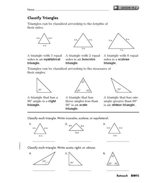 All Worksheets Types Of Triangles Worksheets Printable – Types of Triangles Worksheet