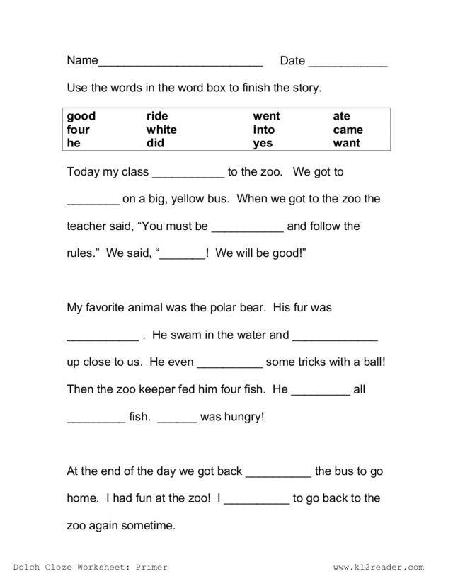 Cloze Worksheets Science - The Best and Most Comprehensive Worksheets